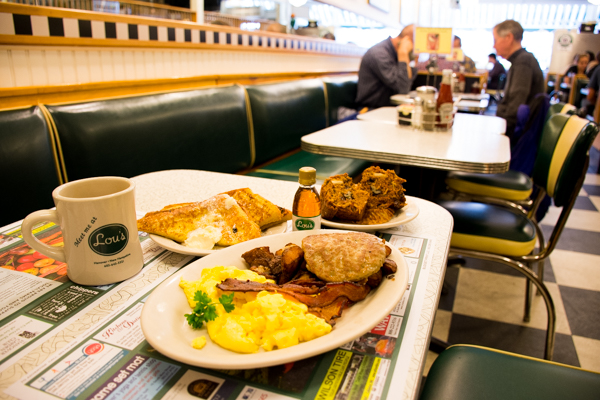 The Big Green Breakfast at Lou's - A Hanover tradition